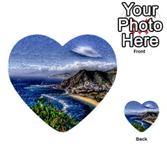 Tenerife 12 Effect Multi-purpose Cards (Heart)  by MoreColorsinLife