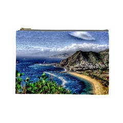 Tenerife 12 Effect Cosmetic Bag (Large)  by MoreColorsinLife