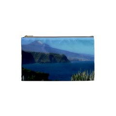 Panted Landscape Tenerife Cosmetic Bag (Small)  by MoreColorsinLife