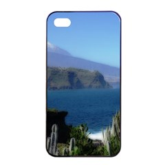 Panted Landscape Tenerife Apple Iphone 4/4s Seamless Case (black)