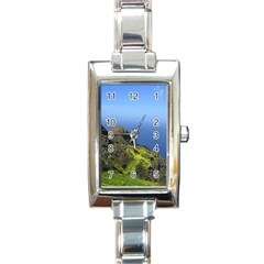 Tenerife 09 Rectangle Italian Charm Watches by MoreColorsinLife