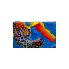 Aquarius  Cosmetic Bag (small)  by julienicholls