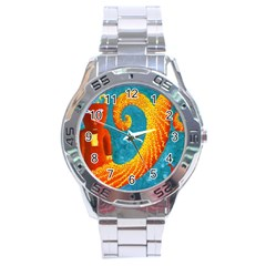 Capricorn Zodiac Sign Stainless Steel Men s Watch by julienicholls