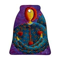 Libra Zodiac Sign Ornament (bell)  by julienicholls
