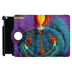 Libra Zodiac Sign Apple Ipad 3/4 Flip 360 Case by julienicholls