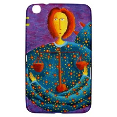 Libra Zodiac Sign Samsung Galaxy Tab 3 (8 ) T3100 Hardshell Case  by julienicholls
