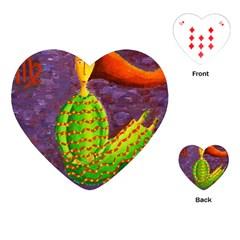Virgo Zodiac Sign Playing Cards (heart)