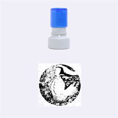 Virgo Zodiac Sign Rubber Round Stamps (small)