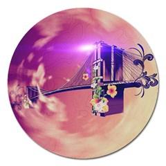 Vintage Magnet 5  (round) by FantasyWorld7