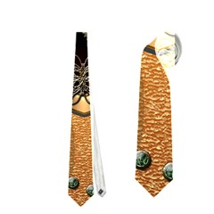 Steampunk, Shield With Hearts Neckties (two Side)  by FantasyWorld7