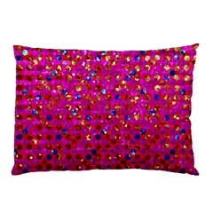 Polka Dot Sparkley Jewels 1 Pillow Cases by MedusArt