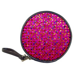Polka Dot Sparkley Jewels 1 Classic 20 Cd Wallets by MedusArt