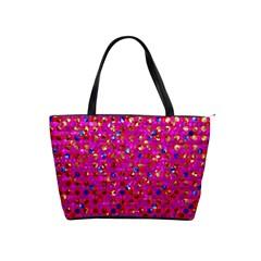 Polka Dot Sparkley Jewels 1 Shoulder Handbags by MedusArt