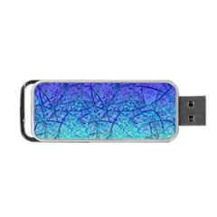 Grunge Art Abstract G57 Portable Usb Flash (two Sides) by MedusArt