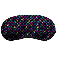Polka Dot Sparkley Jewels 2 Sleeping Masks by MedusArt