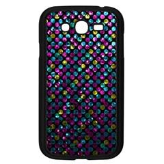 Polka Dot Sparkley Jewels 2 Samsung Galaxy Grand DUOS I9082 Case (Black) by MedusArt