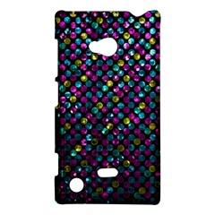 Polka Dot Sparkley Jewels 2 Nokia Lumia 720 by MedusArt