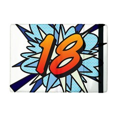Comic Book 18 Blue Ipad Mini 2 Flip Cases by ComicBookPOP