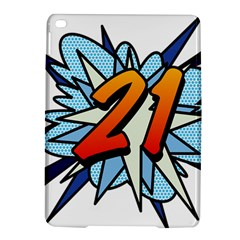 Comic Book 21 Blue Ipad Air 2 Hardshell Cases by ComicBookPOP