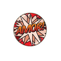 Comic Book Amor!  Hat Clip Ball Marker (10 pack) by ComicBookPOP