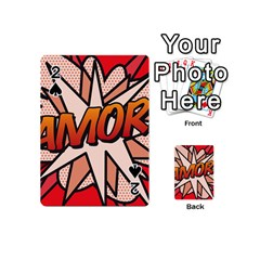Comic Book Amor!  Playing Cards 54 (Mini)  by ComicBookPOP