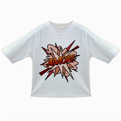 Comic Book Amor! Infant/toddler T Shirts by ComicBookPOP