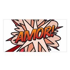 Comic Book Amor! Satin Shawl by ComicBookPOP