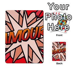 Comic Book Amour!  Multi Purpose Cards (rectangle)  by ComicBookPOP