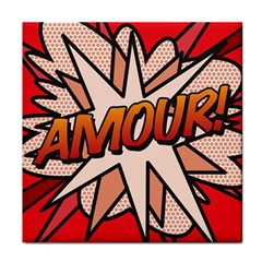 Comic Book Amour!  Face Towel by ComicBookPOP