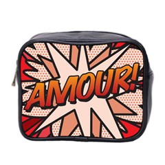 Comic Book Amour!  Mini Toiletries Bag 2 Side by ComicBookPOP