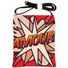 Comic Book Amour!  Shoulder Sling Bags by ComicBookPOP