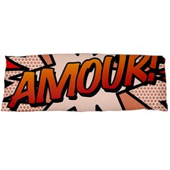 Comic Book Amour!  Body Pillow Cases Dakimakura (two Sides)  by ComicBookPOP