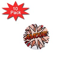 Comic Book Amour! 1  Mini Magnet (10 pack)  by ComicBookPOP
