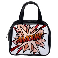 Comic Book Amour! Classic Handbags (one Side) by ComicBookPOP
