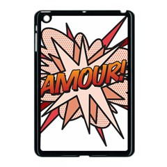 Comic Book Amour! Apple Ipad Mini Case (black) by ComicBookPOP