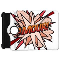Comic Book Amour! Kindle Fire Hd Flip 360 Case by ComicBookPOP