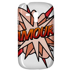 Comic Book Amour! Samsung Galaxy S3 MINI I8190 Hardshell Case by ComicBookPOP