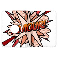 Comic Book Amour! Kindle Fire Hdx Flip 360 Case by ComicBookPOP