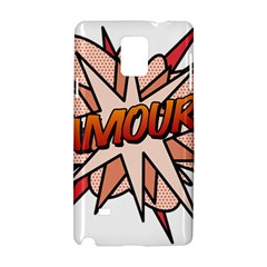 Comic Book Amour! Samsung Galaxy Note 4 Hardshell Case by ComicBookPOP