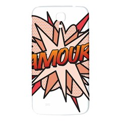 Comic Book Amour! Samsung Galaxy Mega I9200 Hardshell Back Case by ComicBookPOP