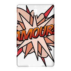 Comic Book Amour! Samsung Galaxy Tab S (8 4 ) Hardshell Case  by ComicBookPOP