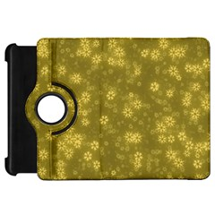Snow Stars Golden Kindle Fire HD Flip 360 Case by ImpressiveMoments