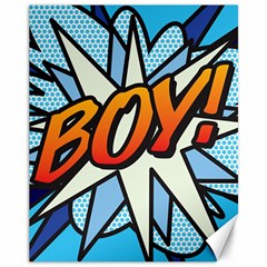 Comic Book Boy!  Canvas 11  x 14   by ComicBookPOP