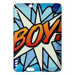 Comic Book Boy!  Kindle Fire Hdx Hardshell Case by ComicBookPOP