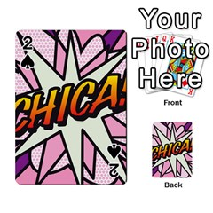 Comic Book Chica!  Playing Cards 54 Designs  by ComicBookPOP