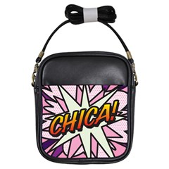 Comic Book Chica!  Girls Sling Bags by ComicBookPOP