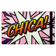 Comic Book Chica!  Apple Ipad 2 Flip Case by ComicBookPOP