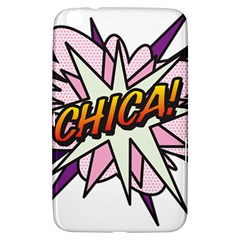 Comic Book Chica! Samsung Galaxy Tab 3 (8 ) T3100 Hardshell Case  by ComicBookPOP