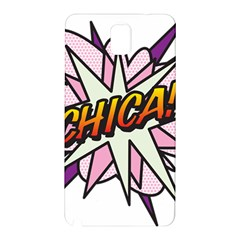 Comic Book Chica! Samsung Galaxy Note 3 N9005 Hardshell Back Case by ComicBookPOP