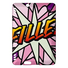 Comic Book Fille! Kindle Fire HDX Hardshell Case by ComicBookPOP